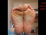 Marita's sexy toes and soles!