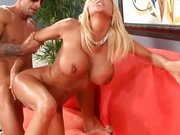 Big boobs MILF Misty Vonage pussy penetration