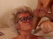 Granny cum spectacles