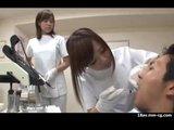 Seks z Azjatkami u dentysty