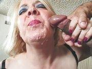 Spust na twarz niemieckiej mamusi