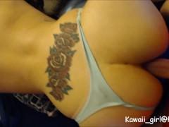 Amatorskie dziewczyna robi anal z ładnym finałem